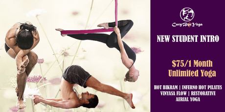 New Student Intro $75/one Month Unlimited Hot Yoga, Pilates  & Aerial Yoga tickets