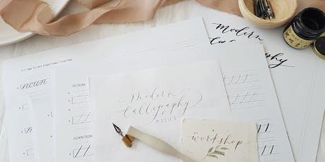Modern Calligraphy Basics Workshop tickets