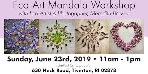Nature Mandala Workshop ~  June 23rd