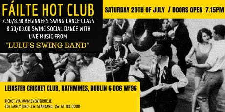 Fáilte Hot Club tickets