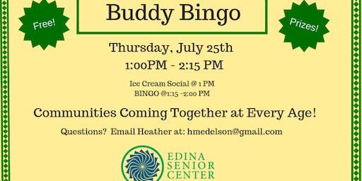 Edina Buddy Bingo!