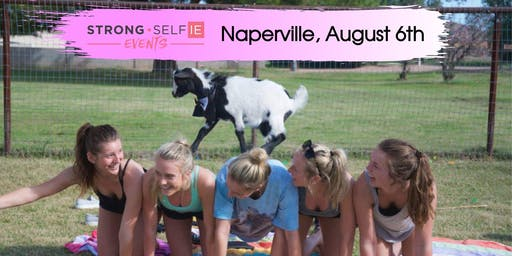 Mom + Daughter GOAT Yoga in NAPERVILLE
