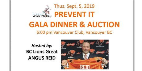 Prevent It Gala Dinner & Auction tickets