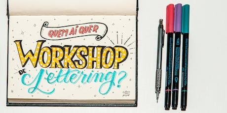 Workshop de Lettering para CRIANÇAS ingressos