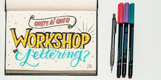 Workshop de Lettering para CRIANÇAS
