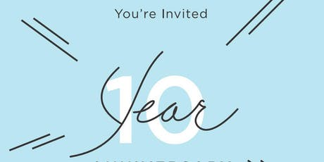 10th Anniversary Party tickets