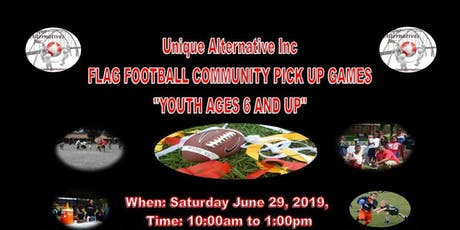 Flag Football Pick Up Game tickets