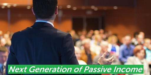 Next Generation of Passive Income
