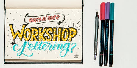 Workshop de Lettering para ADULTOS ingressos