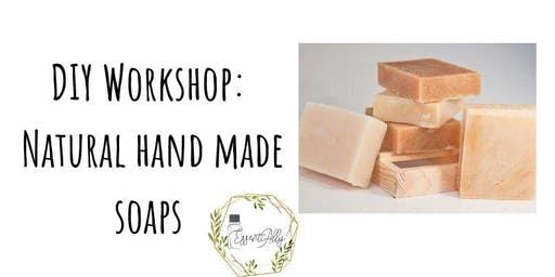 DIY Workshop: Natural hand made soaps