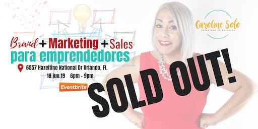 Brand+Marketing+Sales para emprendedores