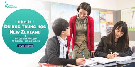 Hội Thảo Du Học Trung Học New Zealand tickets