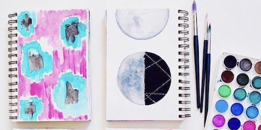 Summer Camp Sundays - Watercolor Sketchbook