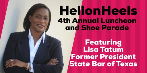4th Annual HellonHeels Luncheon and Shoe Parade