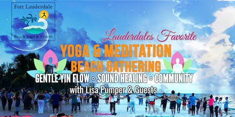 YOGA MEDITATION SOUND HEALING BEACH GATHERING tickets