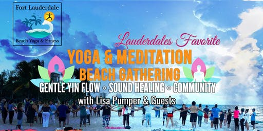 YOGA MEDITATION SOUND HEALING BEACH GATHERING