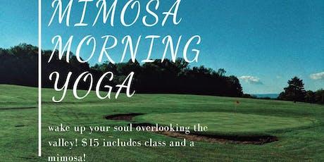 Morning Mimosa Yoga tickets