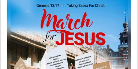 March for JESUS tickets