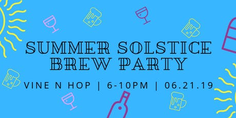 Summer Solstice Brew Party tickets