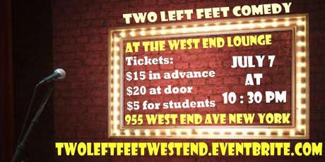 Two Left Feet Comedy tickets