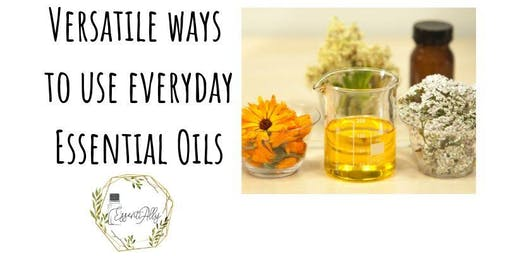 Versatile ways to use everyday Essential Oils