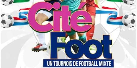 Cité Foot Montfermeil billets