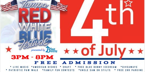 Tampa Red White & Blue Fest presented by Blue Bunny Ice cream