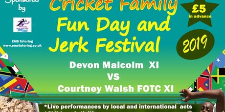 Caribbean Cricket Family Fun Day & Jerk Festival  tickets