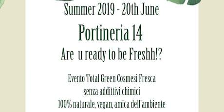 Total Green - Cosmesi Fresca, Bio, Vegan, senza ingredienti di sintesi biglietti
