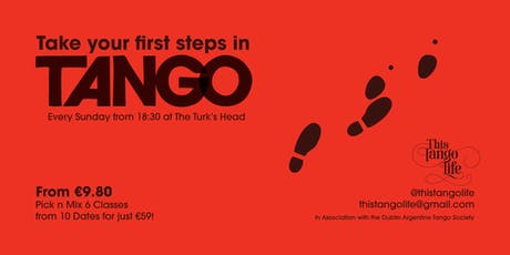 First Steps in Tango tickets