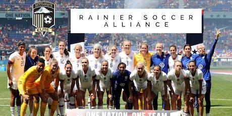 Reign FC & RAINIER SOCCER ALLIANCE  tickets