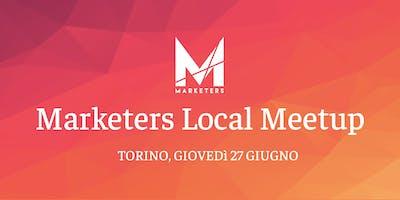 Marketers Meetup Torino | 27.06.19