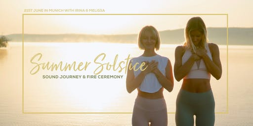 Summer Solstice Ceremony Sound Journey with Irina & Alizz