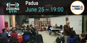 Coding Gym - Giugno 2019 - Programmers in Padua