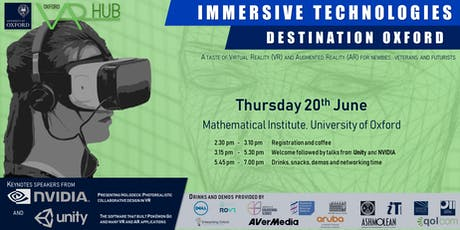 Immersive Technologies: Destination Oxford tickets