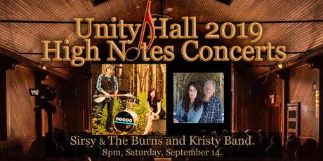 Sirsy & The Burns and Kristy Band tickets