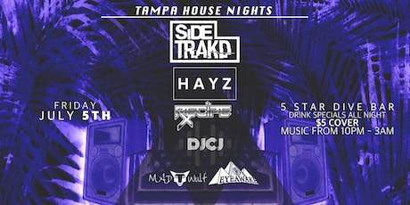 7-5 First Fridays with Tampa House Nights tickets