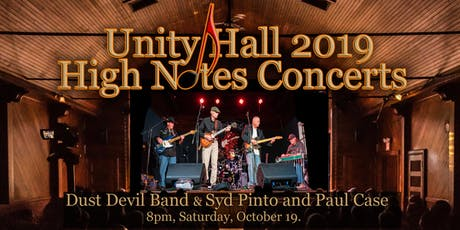 Dust Devil Band / Syd Pinto and Paul Case Live at Unity Hall tickets