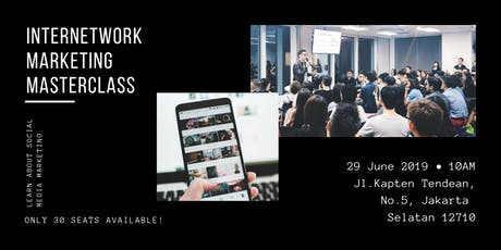 Millennial InterNetwork Marketing Masterclass tickets