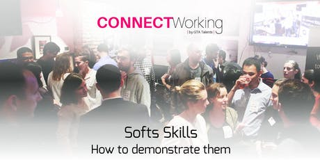 CONNECTWorking July 2nd, 2019 - Soft Skills tickets