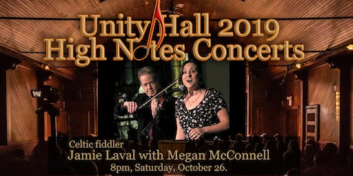 Jamie Laval with special guest Megan McConnell