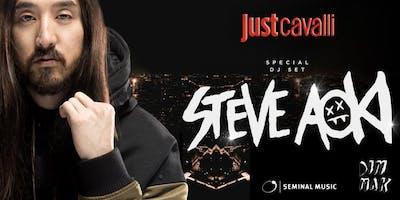 JUST CAVALLI MILANO - GIOVEDI 20 GIUGNO 2019 - STEVE AOKI SPECIAL DJ SET - APERITIVO E SERATA - LISTA MIAMI - LISTE E TAVOLI AL 338-7338905