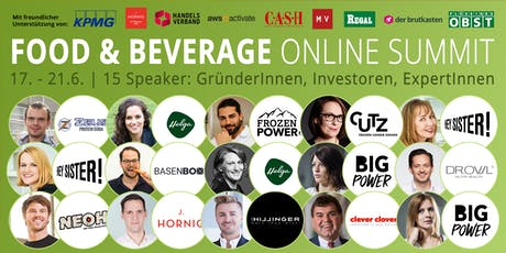 Food & Beverage Innovators ONLINE SUMMIT 2019 (Hamburg) Tickets