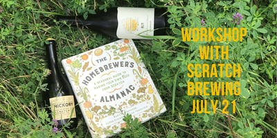 Workshop with Scratch on Brewing with Botanicals
