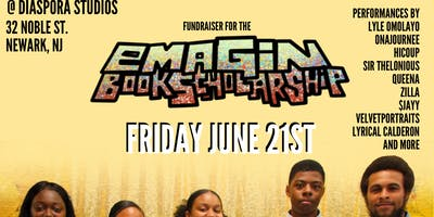 Emagin book scholarship fundraiser