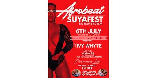 AfroBeat SuyaFest SummerJam