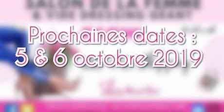 Samedi 5 octobre - Inscriptions stands PROFESSIONNELS billets