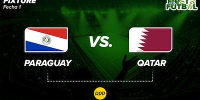 VIVO..- Paraguay Qatar E.n Directo