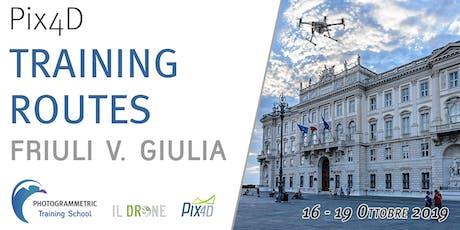 Pix4D Training Routes - Friuli V. Giulia biglietti