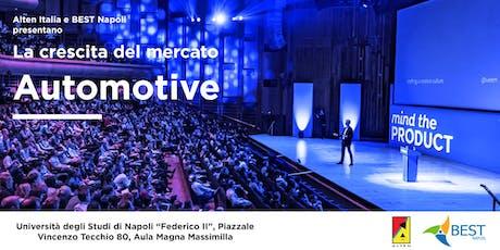 """Seminario """"La crescita dell'industria Automotive"""" biglietti"""